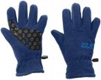 Jack Wolfskin Kids Fleece Glove Blau, Accessoires, 116