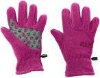 Jack Wolfskin Kids Fleece Glove Lila/Violett, Accessoires, 140