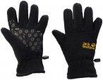 Jack Wolfskin Kids Fleece Glove Schwarz   Größe 152    Fingerhandschuh