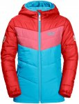 Jack Wolfskin Kids Three Hills Jacket Colorblock / Blau / Rot | Größe 92 | Kin
