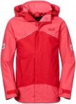 Jack Wolfskin Kids Twister 3 Jacket Rot, 104 -Farbe Hibiscus Red, 104