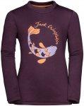 Jack Wolfskin Kids Winter Sweatshirt Lila   Größe 128   Kinder Sweaters & Hood