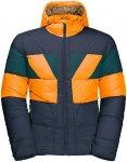 Jack Wolfskin M 365 Getaway Jacket Colorblock / Blau / Orange | Größe XL | Her