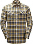 Jack Wolfskin BOW Valley Shirt Gelb, Male Langarm-Hemd, XL