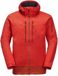 Jack Wolfskin M Mount Elgon Jacket Rot | Herren Regenjacke