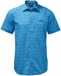 Jack Wolfskin M Rays Stretch Vent Shirt Blau   Größe XL   Herren Hemd