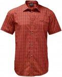 Jack Wolfskin M Rays Stretch Vent Shirt Rot   Größe XXL   Herren Hemd