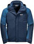 Jack Wolfskin M Steting Peak Jacket Blau | Größe 3XL | Herren