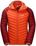 Jack Wolfskin Zenon Storm (Modell Winter 2017) Orange, Male Daunen Freizeitjacke