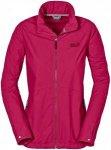 Jack Wolfskin Amber Road 2 Jacket Rot, Female Freizeitjacke, XL
