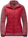 Jack Wolfskin Bellevillle Crossing Rot, Female Fleecejacke, M