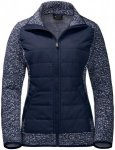 Jack Wolfskin Bellevillle Crossing Blau, Female Fleecejacke, M