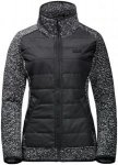 Jack Wolfskin Bellevillle Crossing Schwarz, Female Fleecejacke, XS