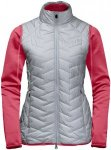 Jack Wolfskin ICY Trail Rot, Female Doppeljacke-3-in-1-Jacke, XS