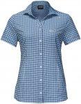 Jack Wolfskin W Kepler Shirt Kariert / Blau | Größe XS | Damen Hemd