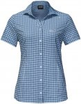Jack Wolfskin W Kepler Shirt Kariert / Blau | Damen Hemd