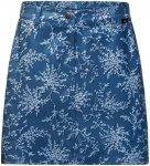 Jack Wolfskin W Sonora Print Skort Blau | Größe 44 | Damen Röcke