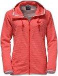 Jack Wolfskin W Tongari Hooded Jacket Damen | Rot | XL | +XS,S,M,XL