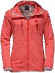 Jack Wolfskin Tongari Hooded Jacket Rot, Female Freizeitjacke, L