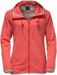 Jack Wolfskin W Tongari Hooded Jacket Rot | Damen