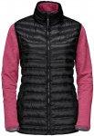 Jack Wolfskin W Tongari Vista Jacket Lila / Schwarz | Größe XS | Damen Fleecej