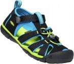 Keen Kids Seacamp II CNX Blau / Schwarz   Größe EU 36    Sandale