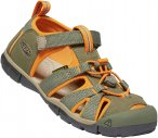 Keen Kids Seacamp II CNX Orange, EU 25-26 -Farbe Dusty Olive -Russet Orange, 25-