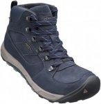 Keen Westward Mid Leather Waterproof Blau, Male EU 39.5 -Farbe Dark Sea -Night,