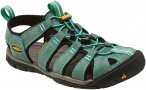 Keen Clearwater CNX Leather Blau, Female EU 37 -Farbe Mineral Blue -Yellow, 37