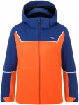 Kjus Boys Speed Reader Jacket Colorblock / Blau / Orange   Größe 128   Herren