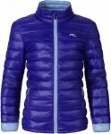 Kjus Girls Cypress Jacket Blau, Female Daunen Freizeitjacke, 128