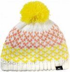 Kjus Junior Flow Beanie Weiß-Gelb, 176, Kinder Mütze