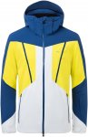 Kjus Men Boval Jacket Colorblock / Blau / Gelb | Größe 46 | Herren