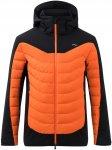Kjus Men Sight Line Jacket Orange / Schwarz | Größe 52 | Herren Isolationsjack