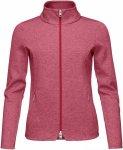 Kjus Women Central Jacket Rot, Female Fleecejacke, 42
