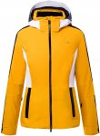 Kjus Women Formula Jacket Gelb | Größe 36 | Damen Regenjacke