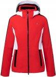 Kjus Women Formula Jacket Rot | Größe 44 | Damen Regenjacke