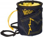 La Sportiva Jeans Chalk Bag Blau | Größe One Size |  Kletterzubehör