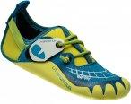La Sportiva Kids Gripit Blau / Gelb | Größe EU 33-34 |  Kletterschuh