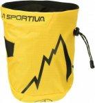 La Sportiva Laspo Chalk Bag Gelb, Klettern, One Size