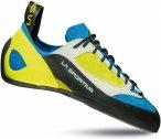 La Sportiva M Finale Blau / Gelb   Größe EU 37   Herren Kletterschuh