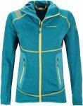 La Sportiva Womens Avail 2.0 Hoody Blau, L, Damen Jacke, isoliert