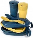Light my Fire Pack'n'eat KIT BIO Blau / Gelb | Größe One Size Geschirr & Beste