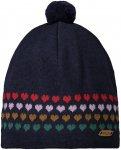 Maloja W Blauncam. Beanie Blau | Größe One Size | Damen Kopfbedeckung