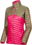 Mammut W Broad Peak Light IN Jacket Colorblock / Pink   Damen Daunenjacke