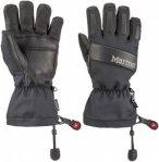 Marmot Baker Glove Schwarz, S,Fingerhandschuh ▶ %SALE 15%