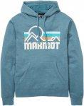 Marmot M Coastal Hoody Blau | Herren Freizeitpullover