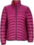 Marmot Aruna Jacket Lila/Violett, Female Daunen Mens -Farbe Magenta, M
