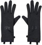 Mons Royale Merino AMP Wool Fleece Glove Schwarz |  Fingerhandschuh
