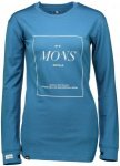 Mons Royale Merino W Boyfriend Long-Sleeve | Damen Langarm-Shirt